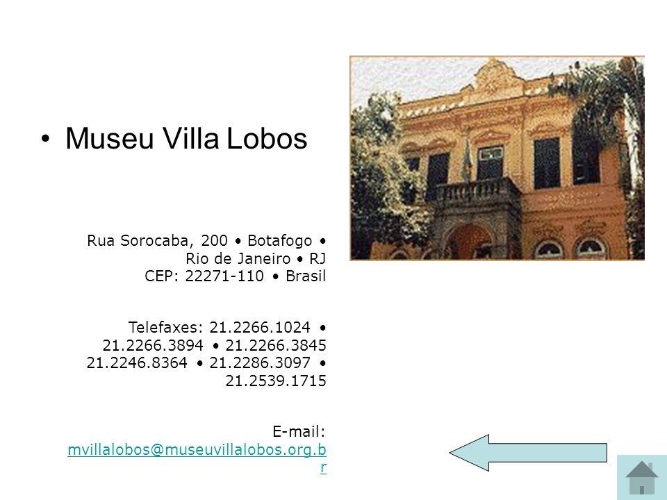Museu Villa Lobos Museu Villa-Lobos