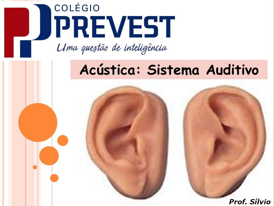 Acústica: Sistema Auditivo