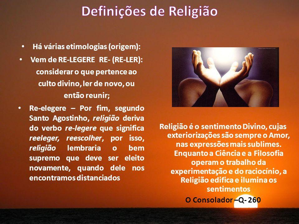 Definições de Religião