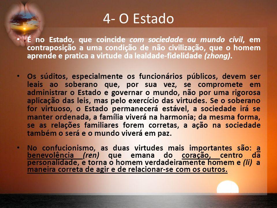 4- O Estado