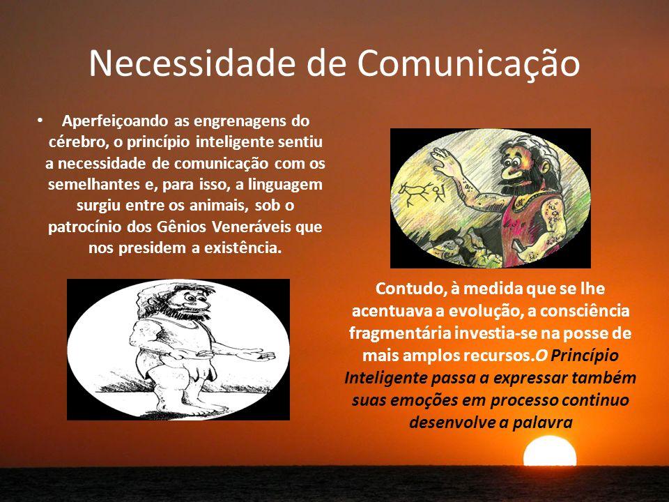 Necessidade de Comunicação
