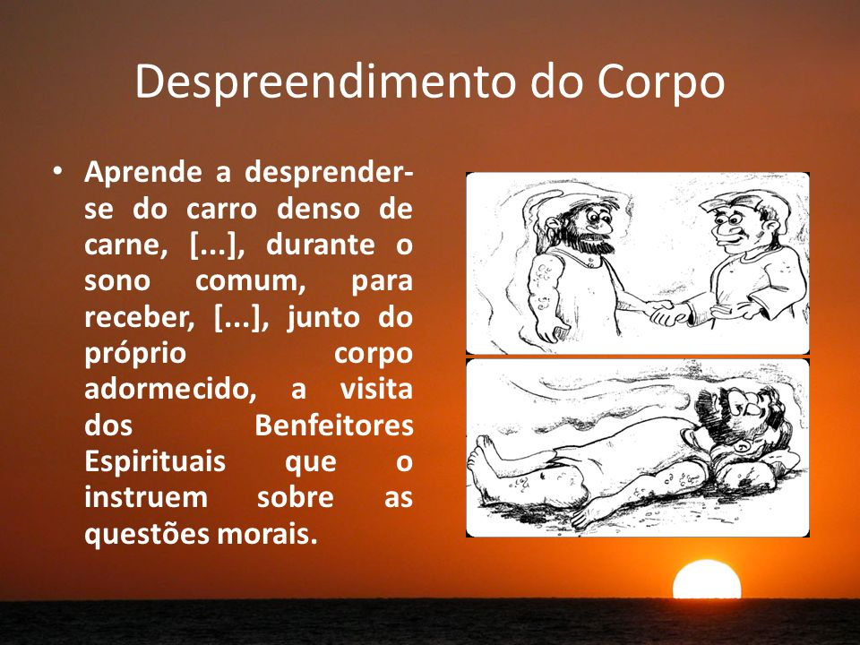 Despreendimento do Corpo