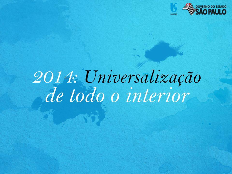 de todo o interior 2014: Universalização