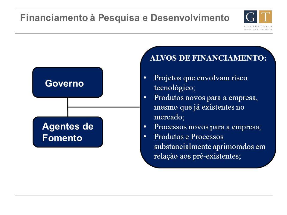 Financiamento à Pesquisa e Desenvolvimento