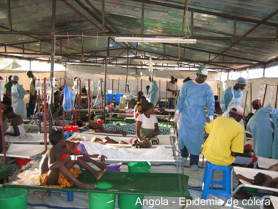 Angola - Epidemia de cólera