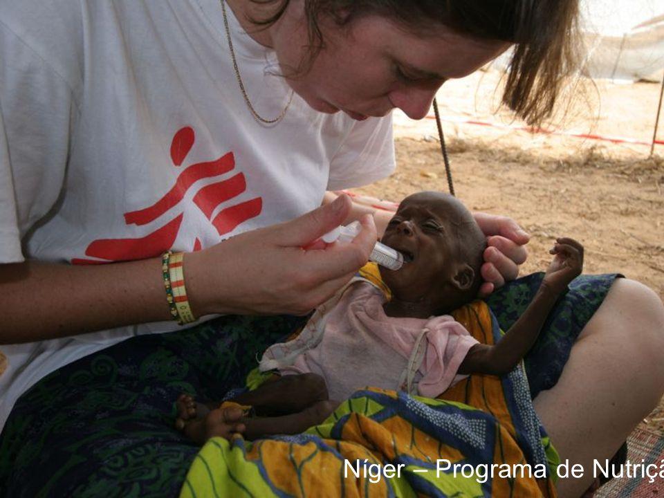Níger – Programa de Nutrição