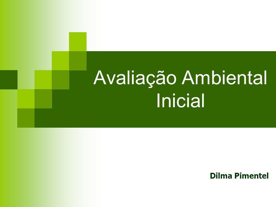 Avaliação Ambiental Inicial