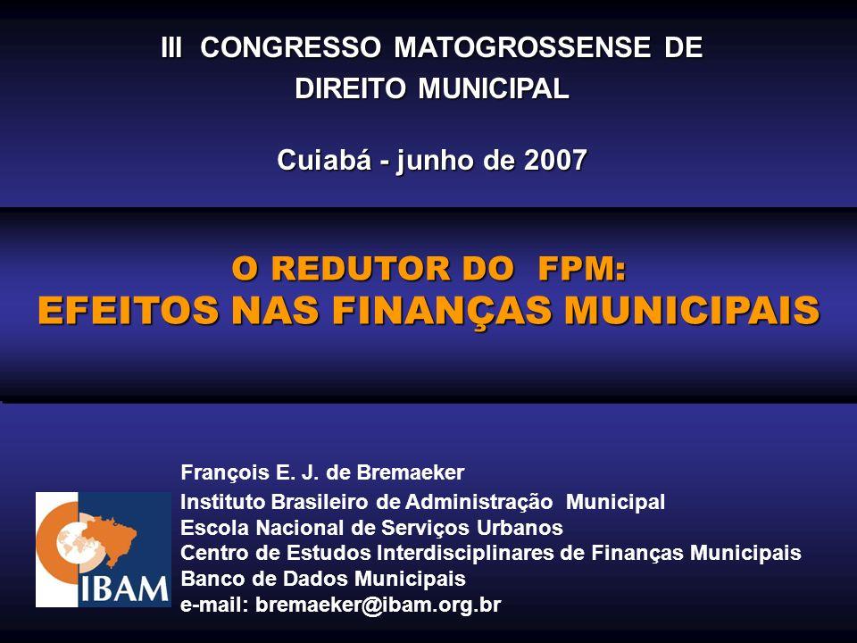 III CONGRESSO MATOGROSSENSE DE