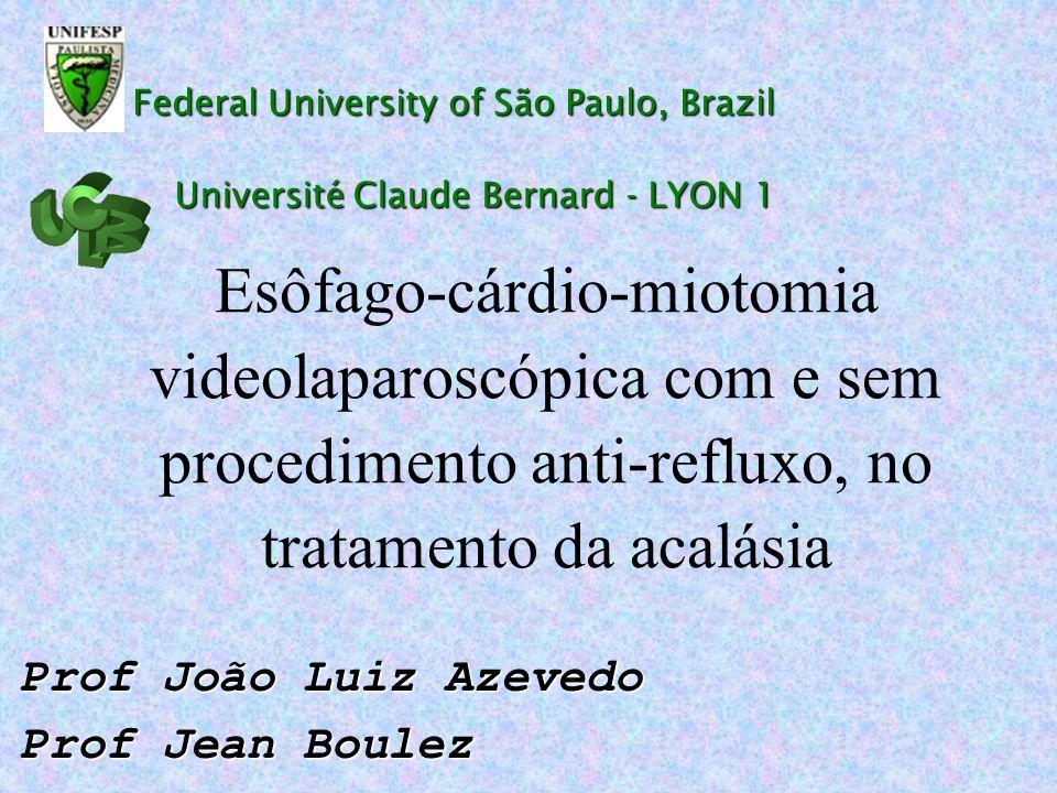 Prof João Luiz Azevedo Prof Jean Boulez