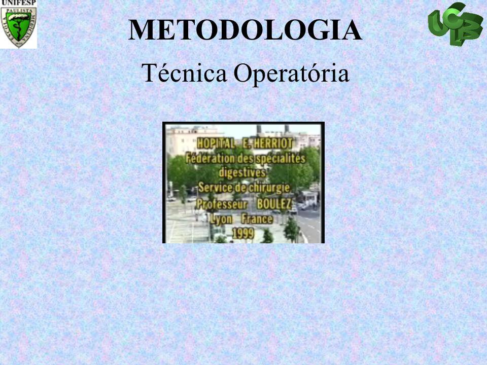 METODOLOGIA Técnica Operatória Abrir slide para Operative Techenic