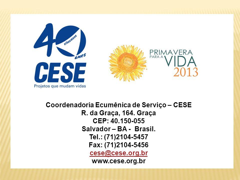CESE – Coordenadoria Ecumênica de Serviço