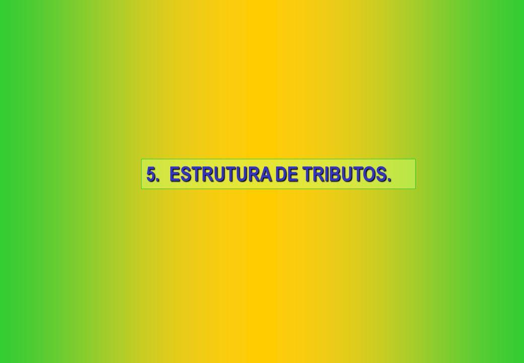 5. ESTRUTURA DE TRIBUTOS.