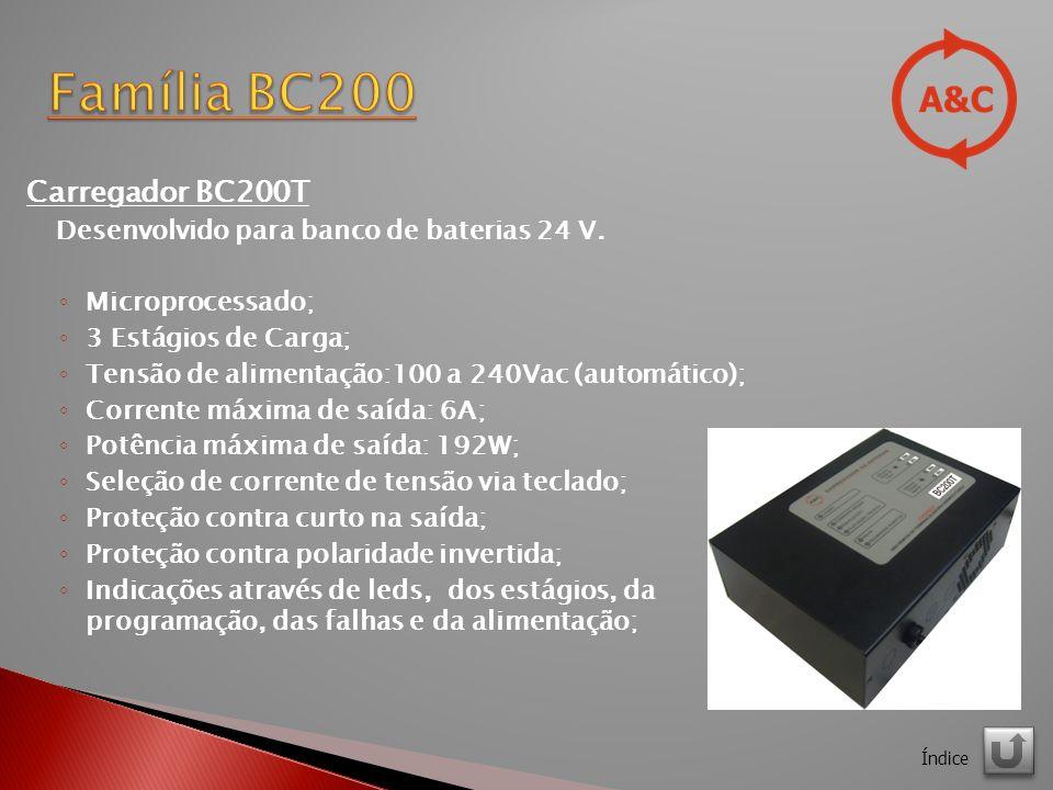 Família BC200 Carregador BC200T