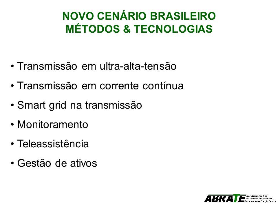 NOVO CENÁRIO BRASILEIRO MÉTODOS & TECNOLOGIAS
