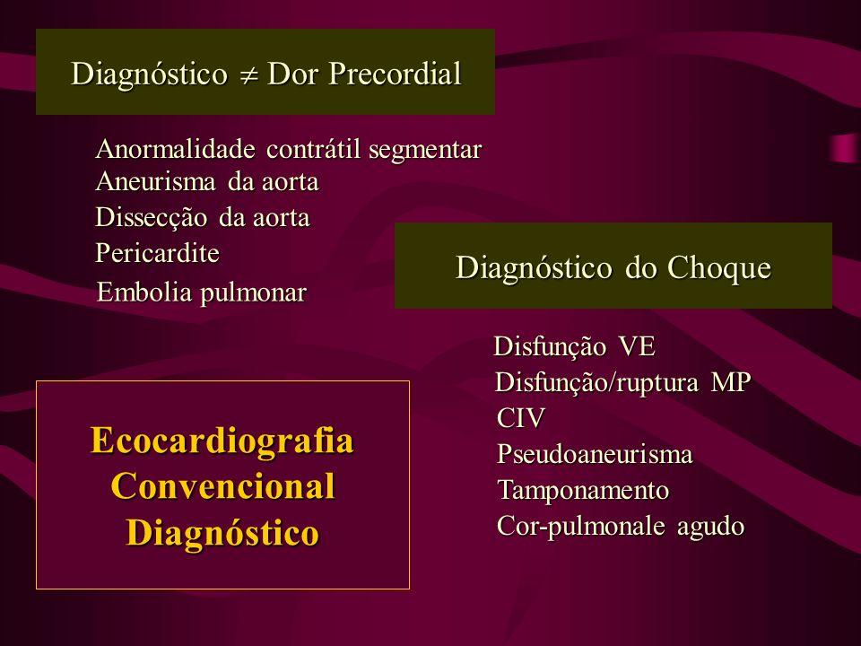 Diagnóstico  Dor Precordial