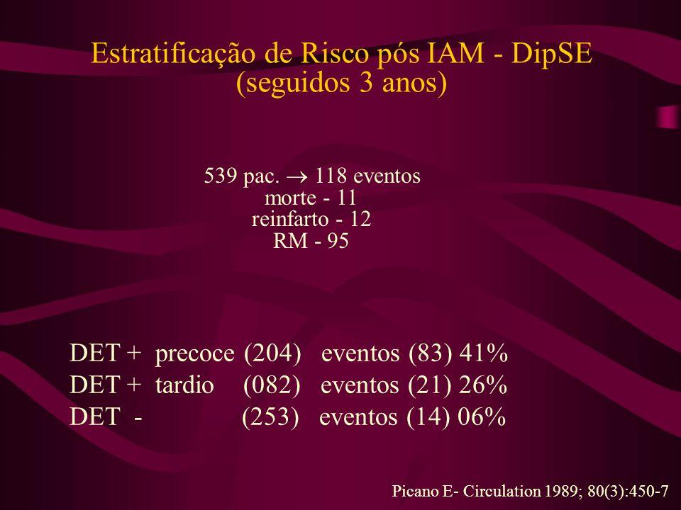 Estratificação de Risco pós IAM - DipSE