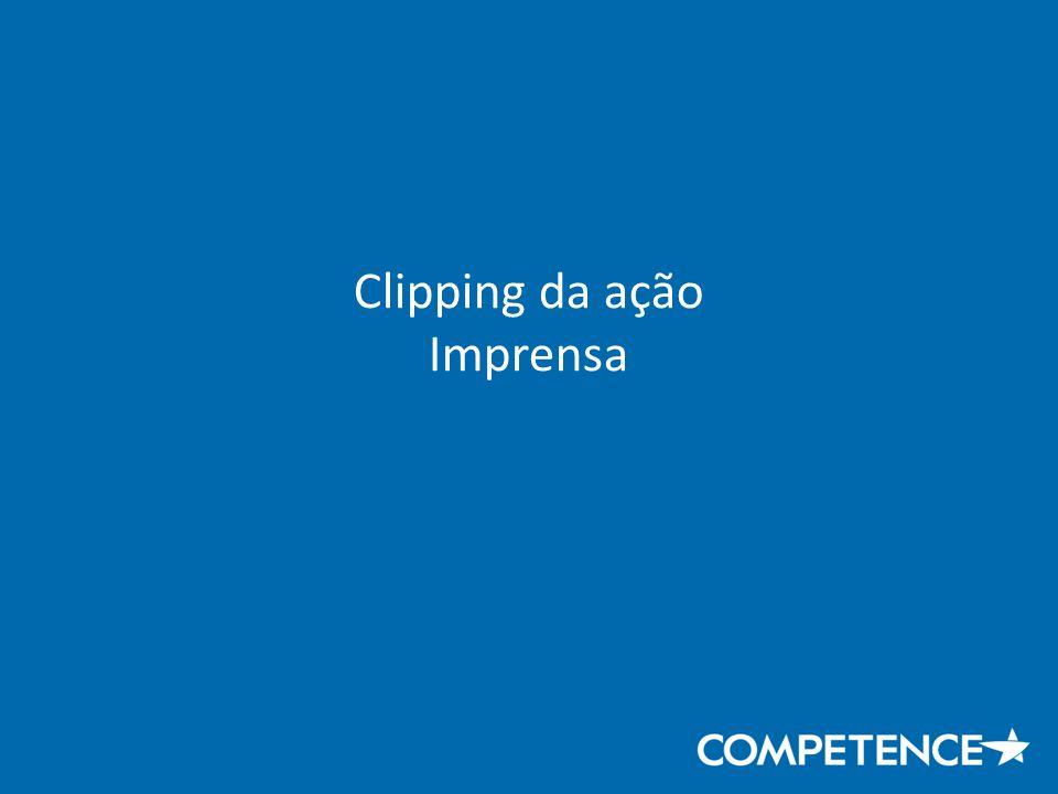 Clipping da ação Imprensa
