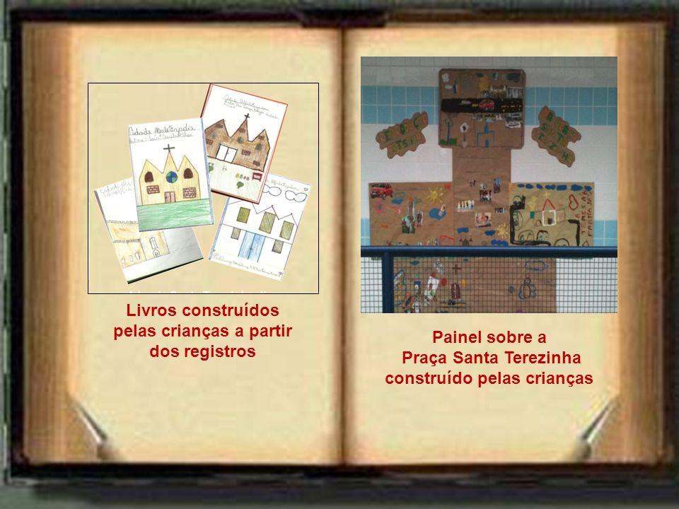 Livros construídos pelas crianças a partir dos registros