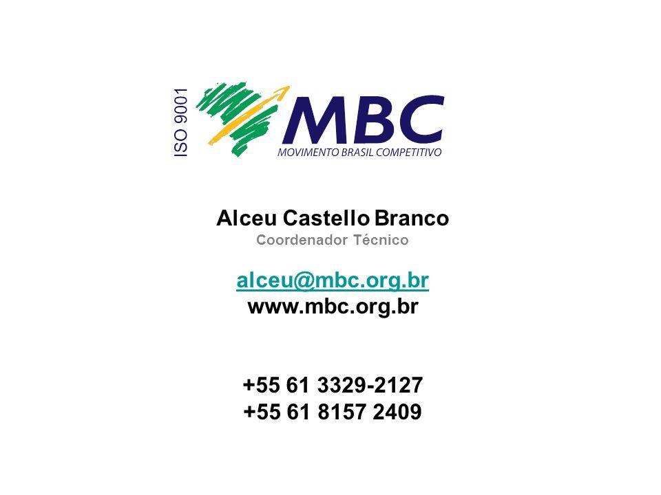 Alceu Castello Branco alceu@mbc.org.br www.mbc.org.br +55 61 3329-2127
