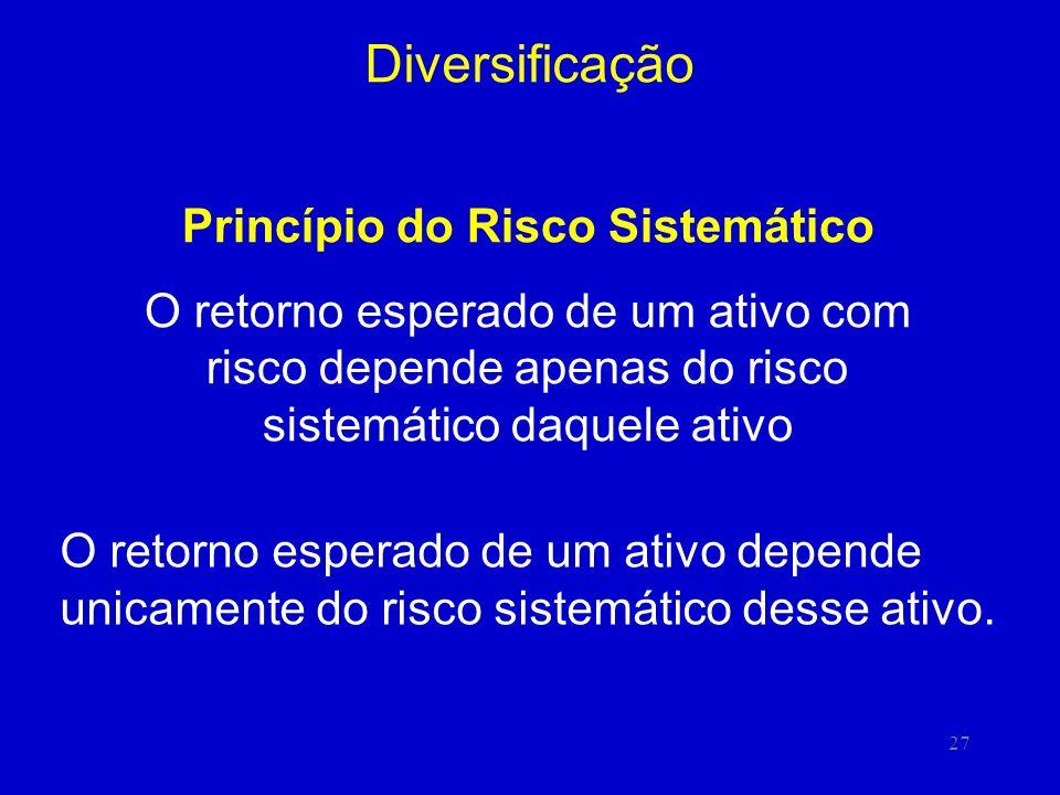 Princípio do Risco Sistemático