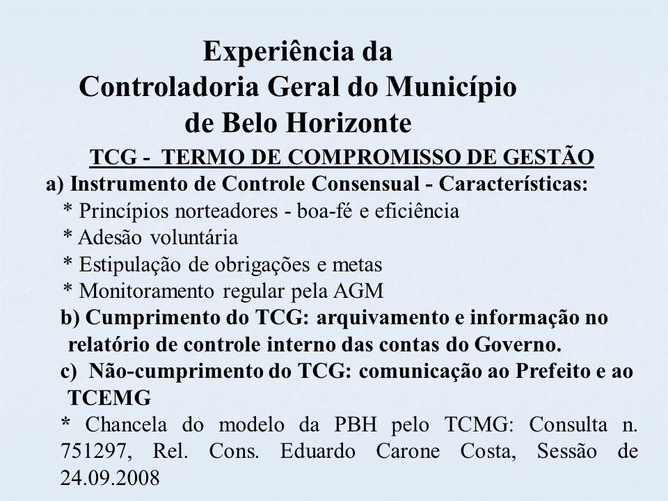 Controladoria Geral do Município de Belo Horizonte