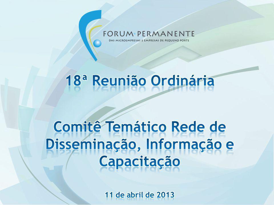 Comitê Temático Rede de Disseminação, Informação e Capacitação