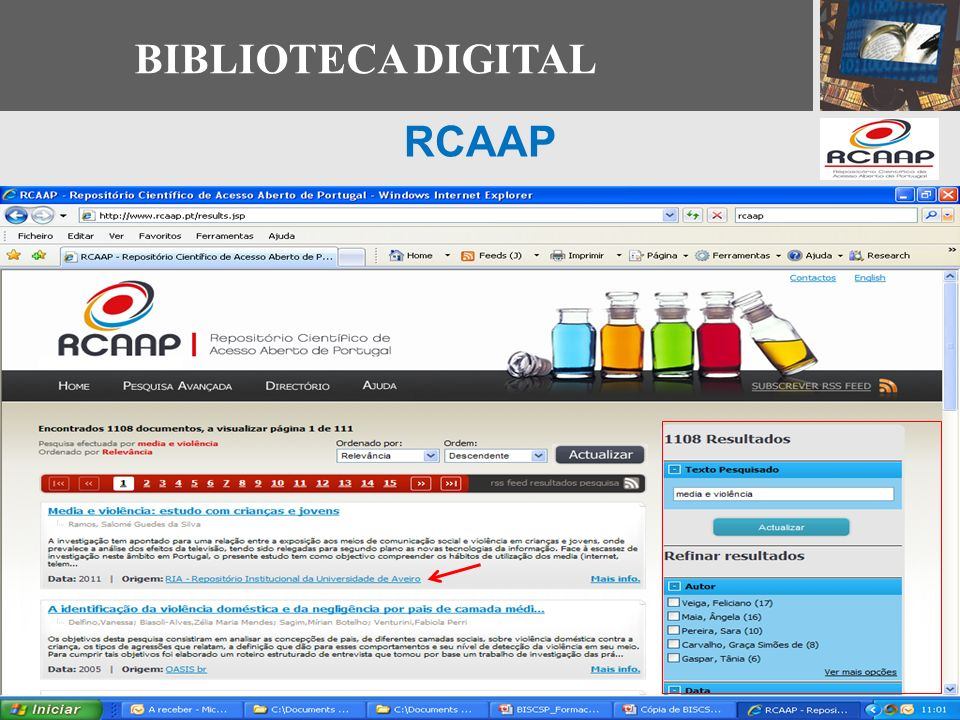 BIBLIOTECA DIGITAL RCAAP