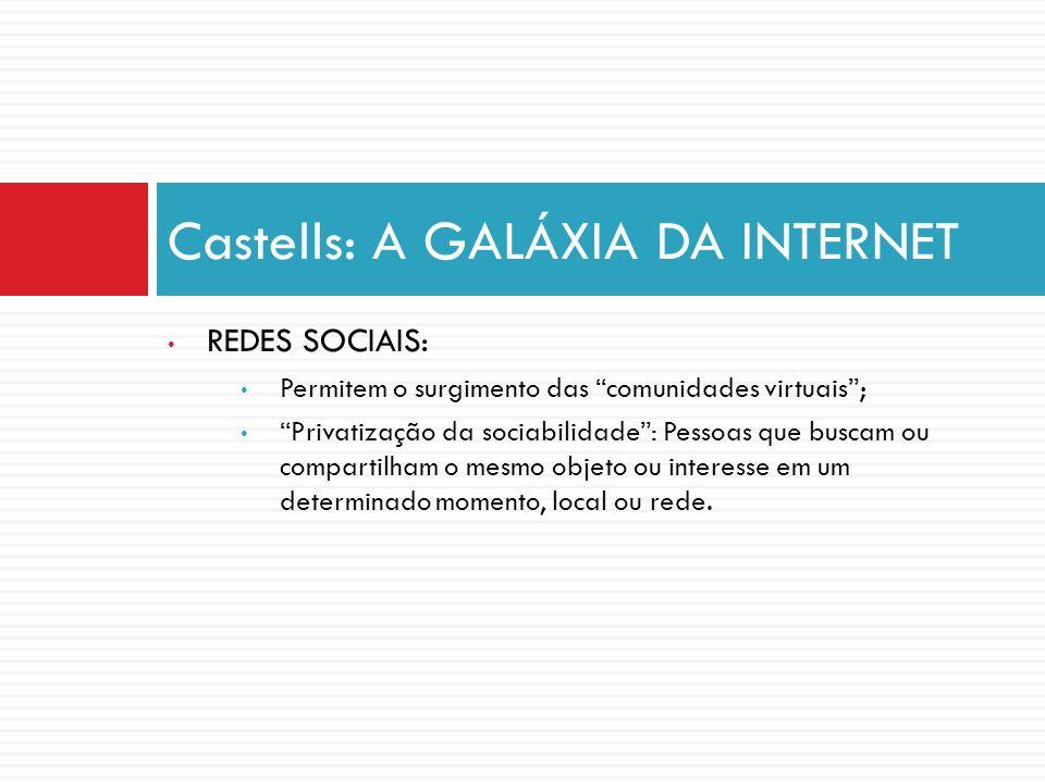 Castells: A GALÁXIA DA INTERNET