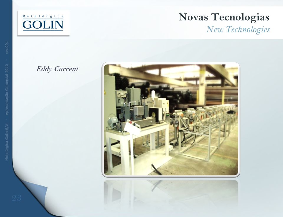 Novas Tecnologias New Technologies Eddy Current 23 DFDFD