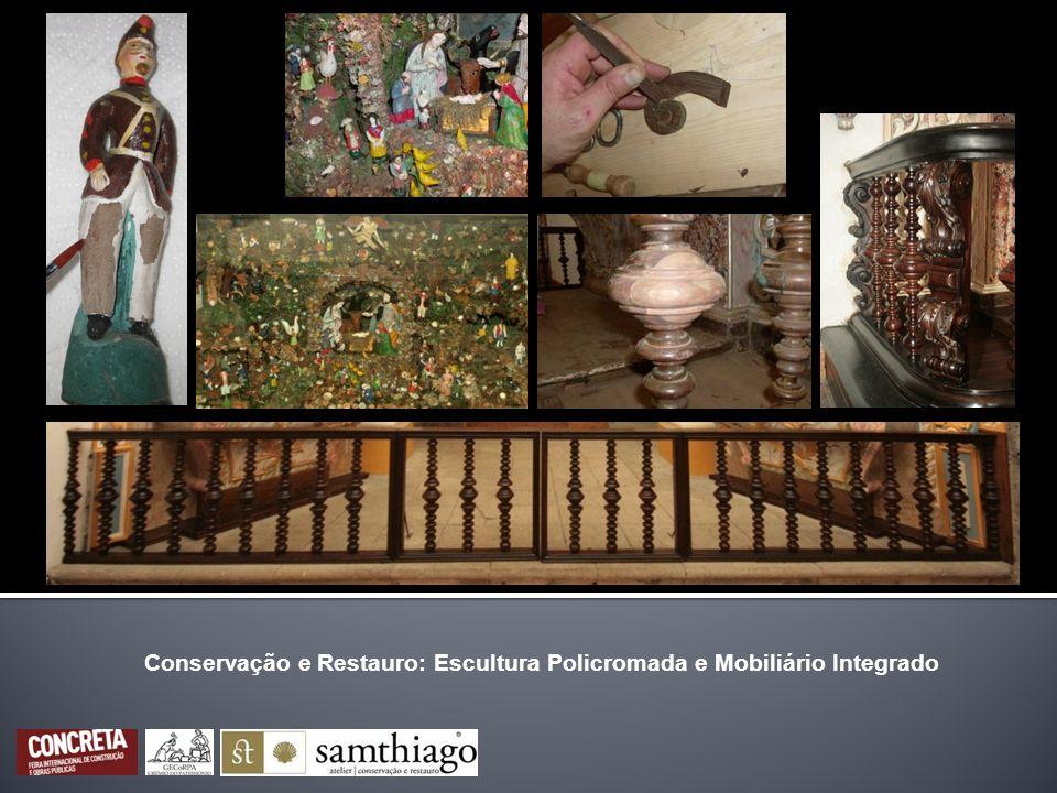 Conservação e Restauro: Escultura Policromada e Mobiliário Integrado