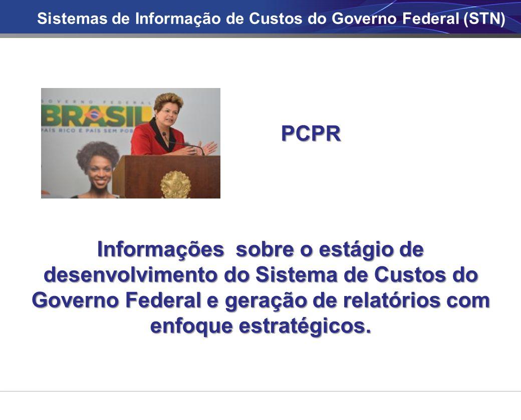 Sistemas de Informação de Custos do Governo Federal (STN)