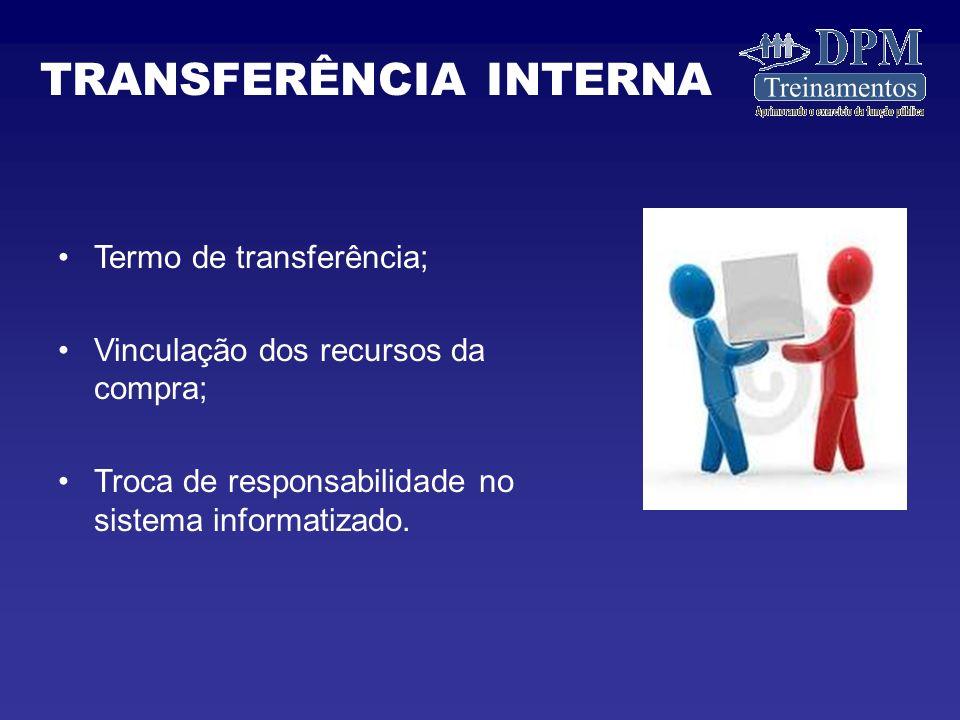 TRANSFERÊNCIA INTERNA