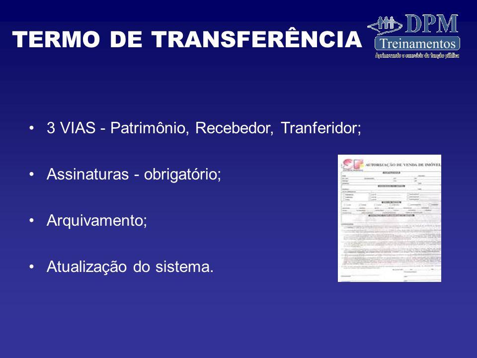 TERMO DE TRANSFERÊNCIA
