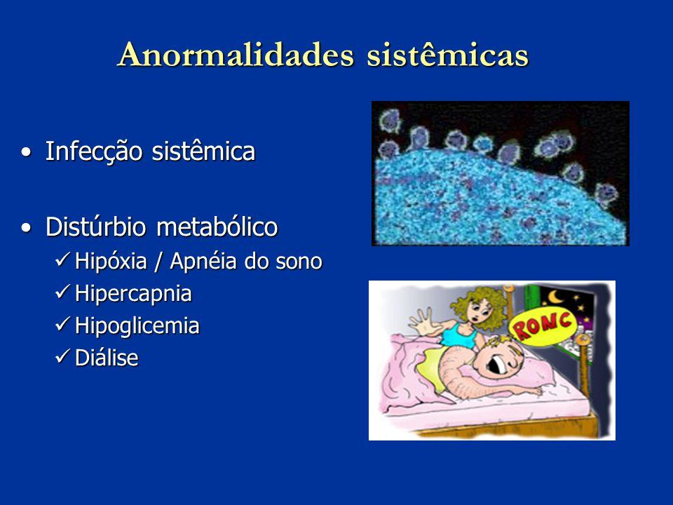 Anormalidades sistêmicas