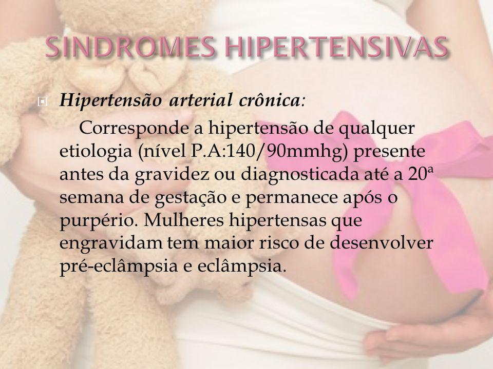 SINDROMES HIPERTENSIVAS