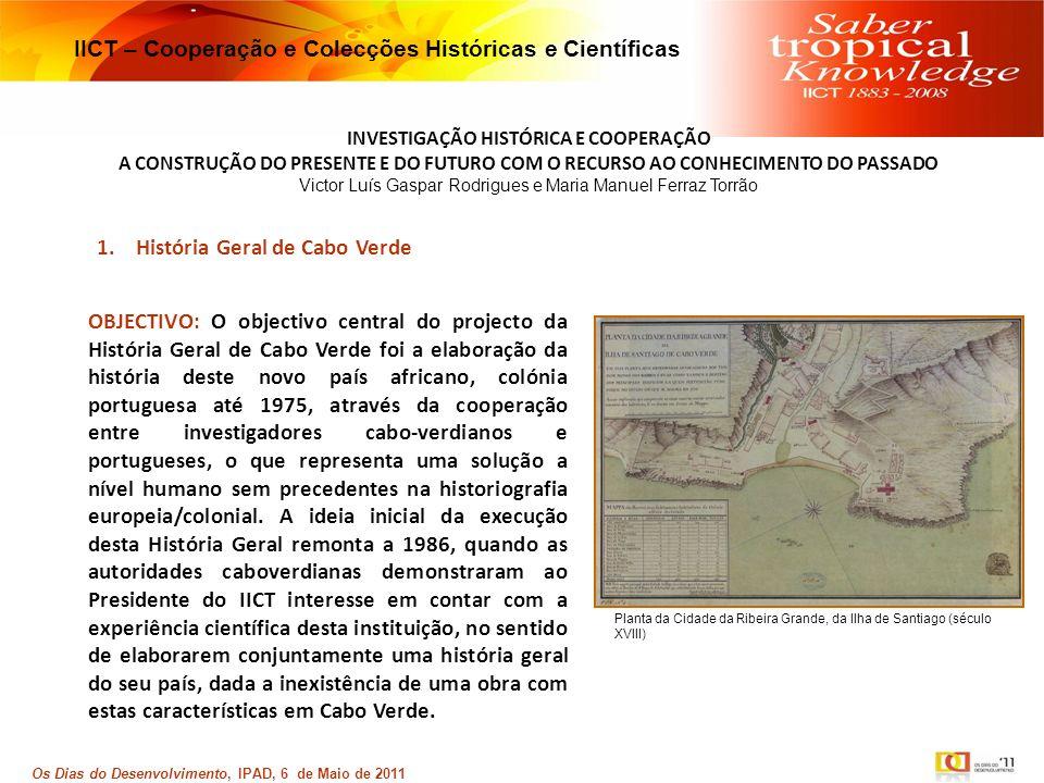 IICT – Cooperação e Colecções Históricas e Científicas