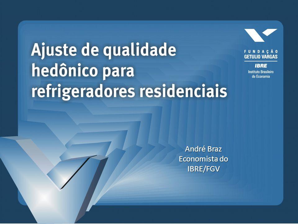 André Braz Economista do IBRE/FGV