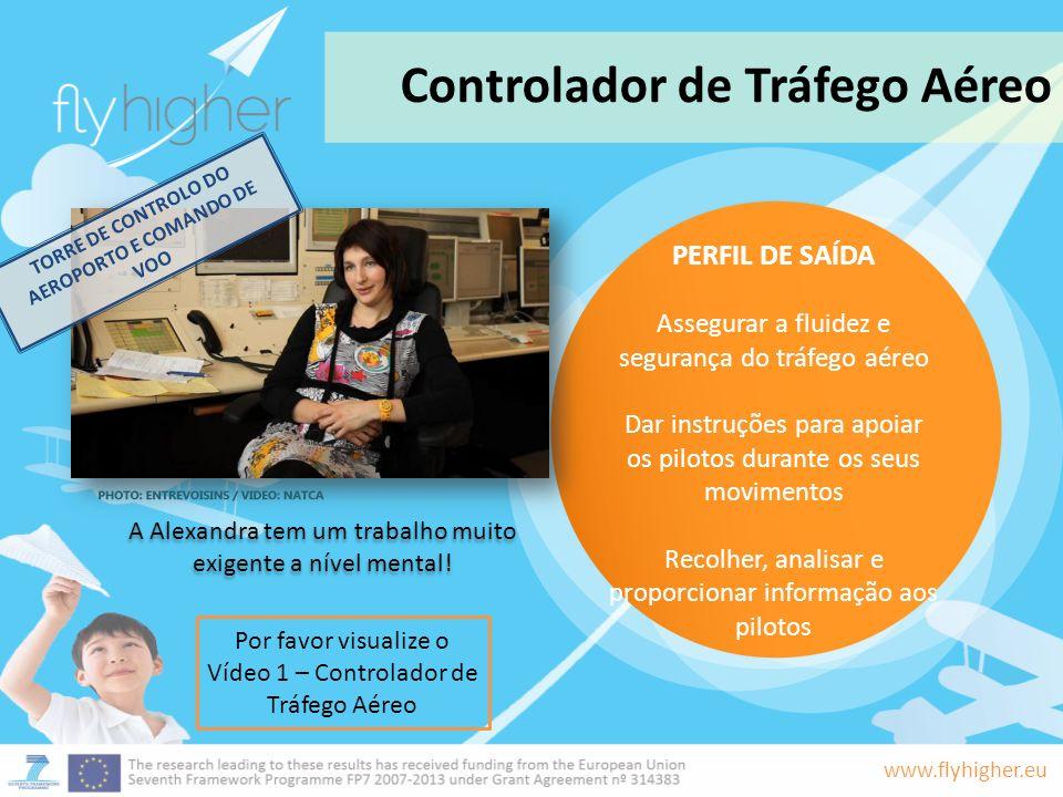 TORRE DE CONTROLO DO AEROPORTO E COMANDO DE VOO