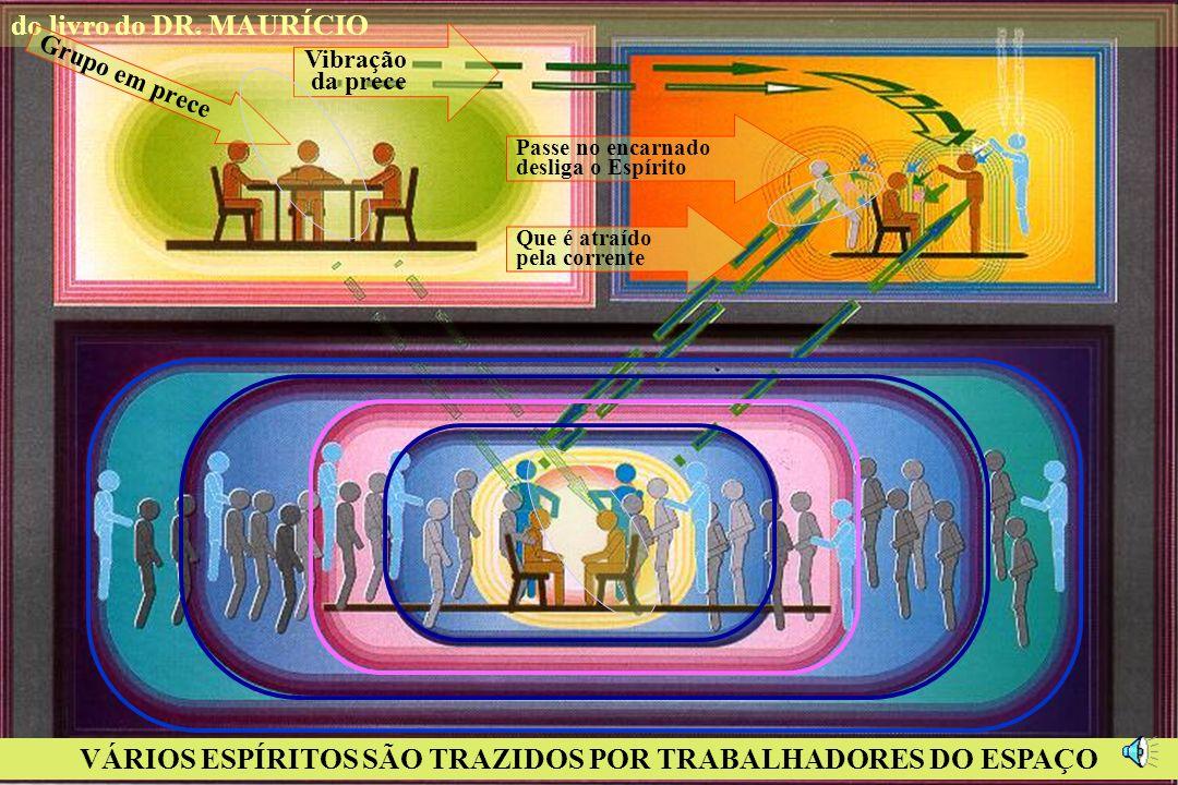 VÁRIOS ESPÍRITOS SÃO TRAZIDOS POR TRABALHADORES DO ESPAÇO