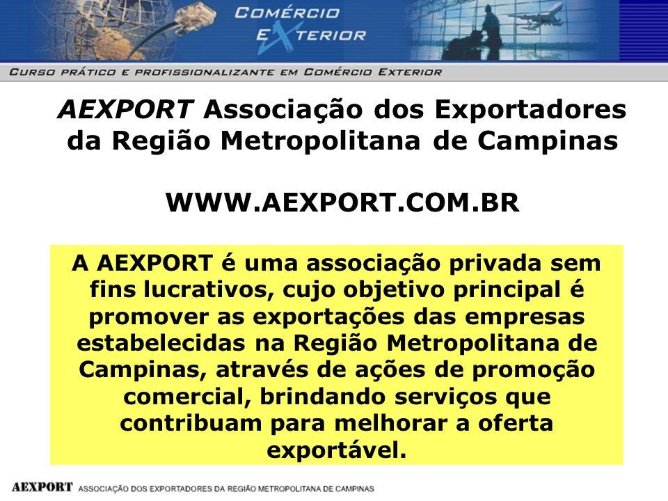 AEXPORT Associação dos Exportadores da Região Metropolitana de Campinas