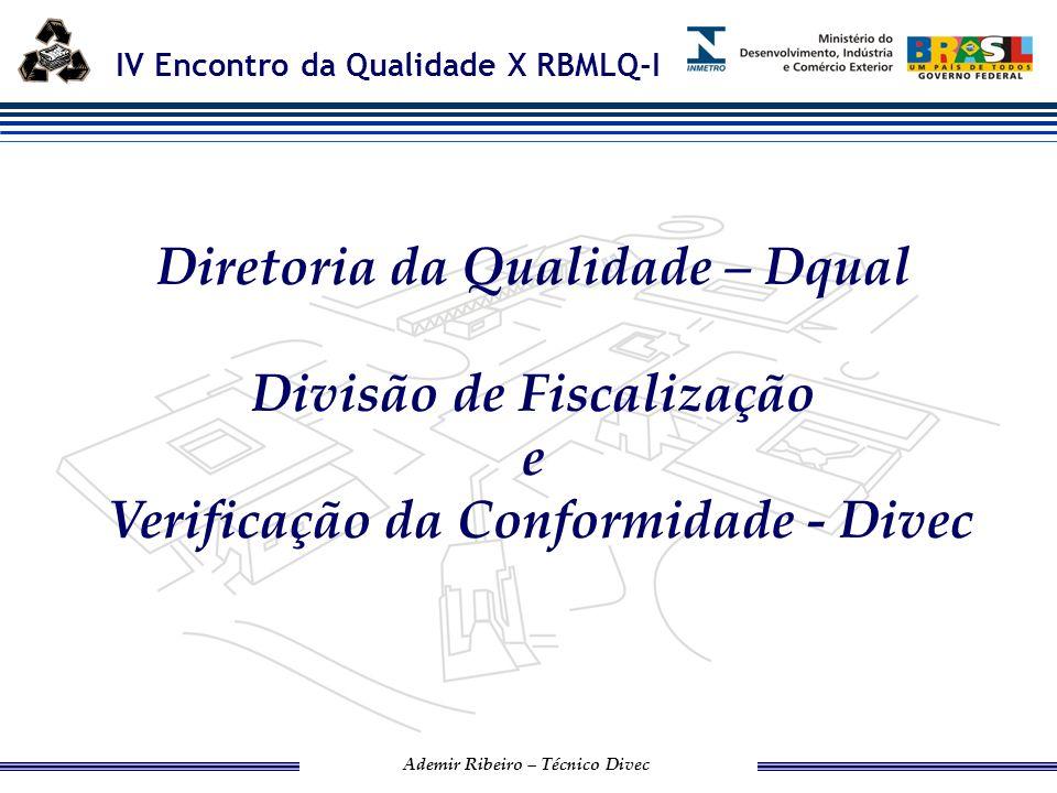 Diretoria da Qualidade – Dqual Divisão de Fiscalização e