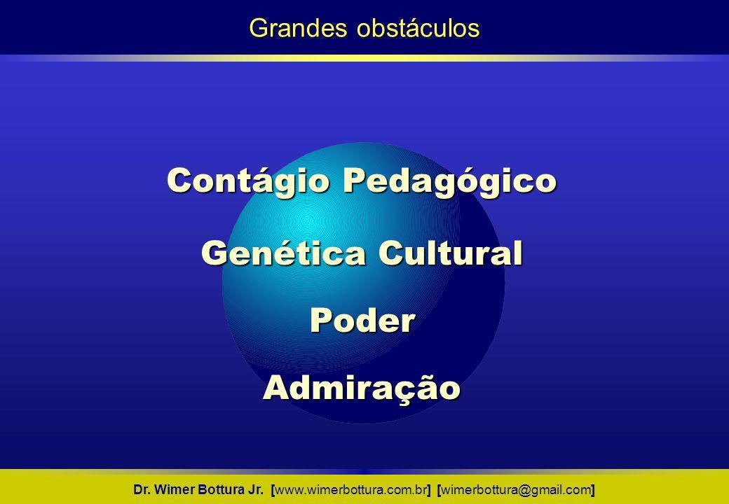 Contágio Pedagógico Genética Cultural Poder Admiração