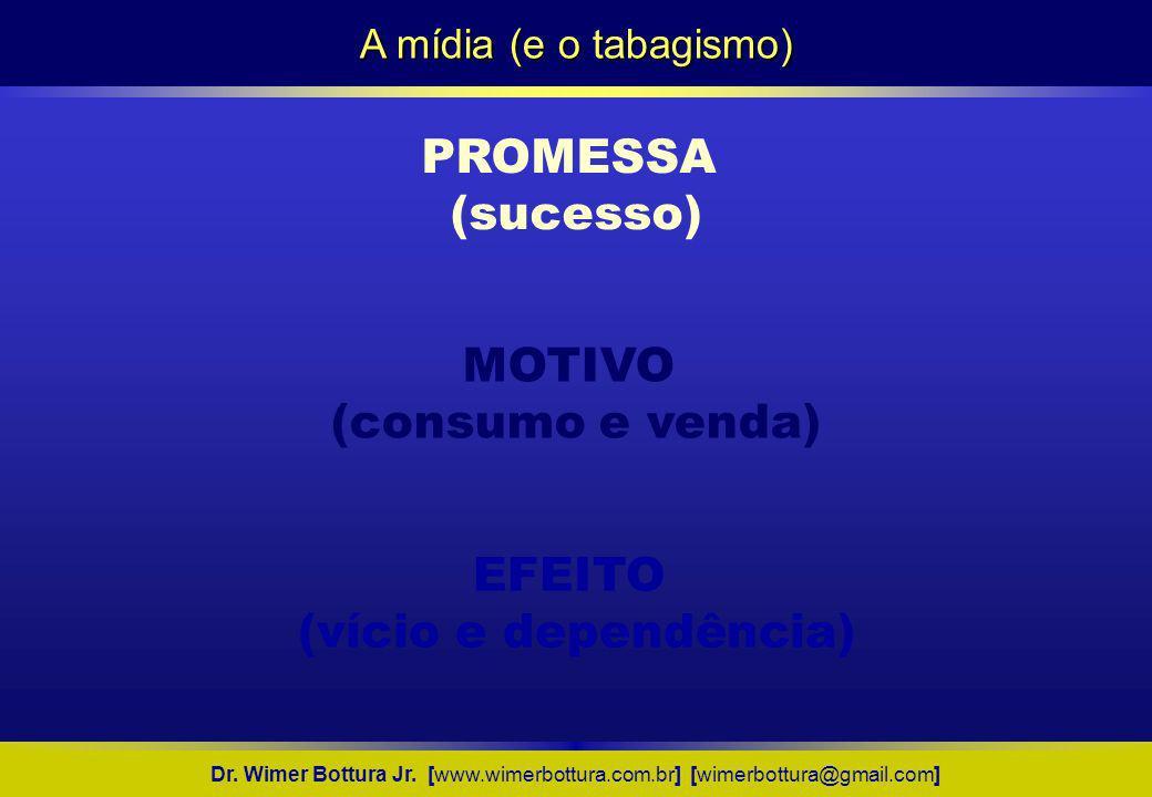 PROMESSA (sucesso) MOTIVO (consumo e venda) EFEITO