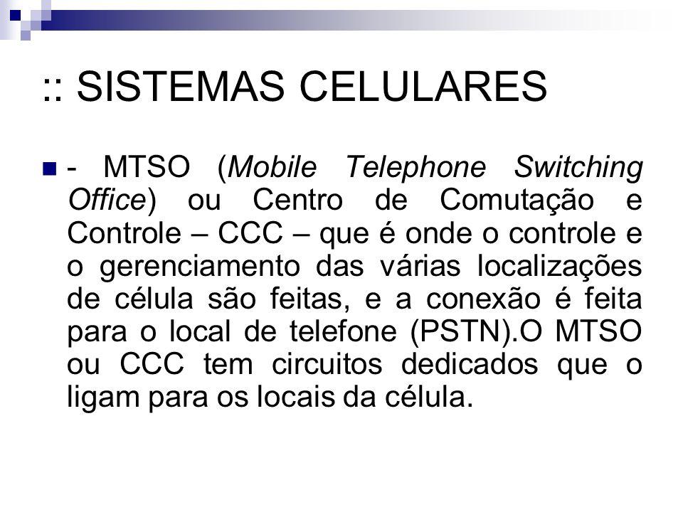 :: SISTEMAS CELULARES