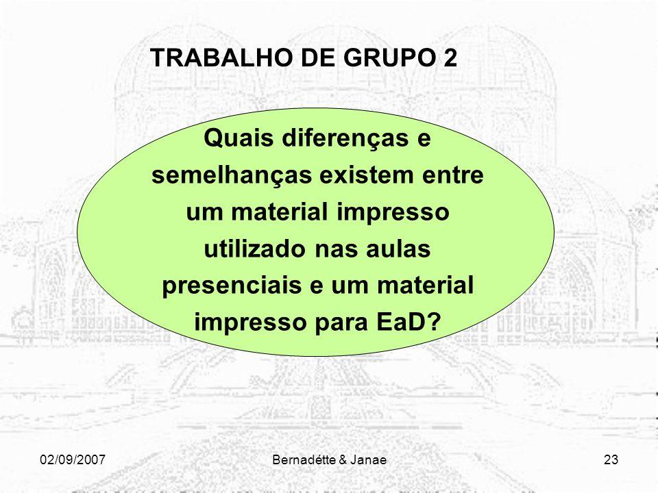 TRABALHO DE GRUPO 2
