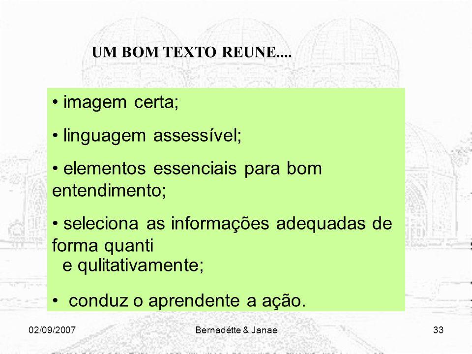 linguagem assessível; elementos essenciais para bom entendimento;