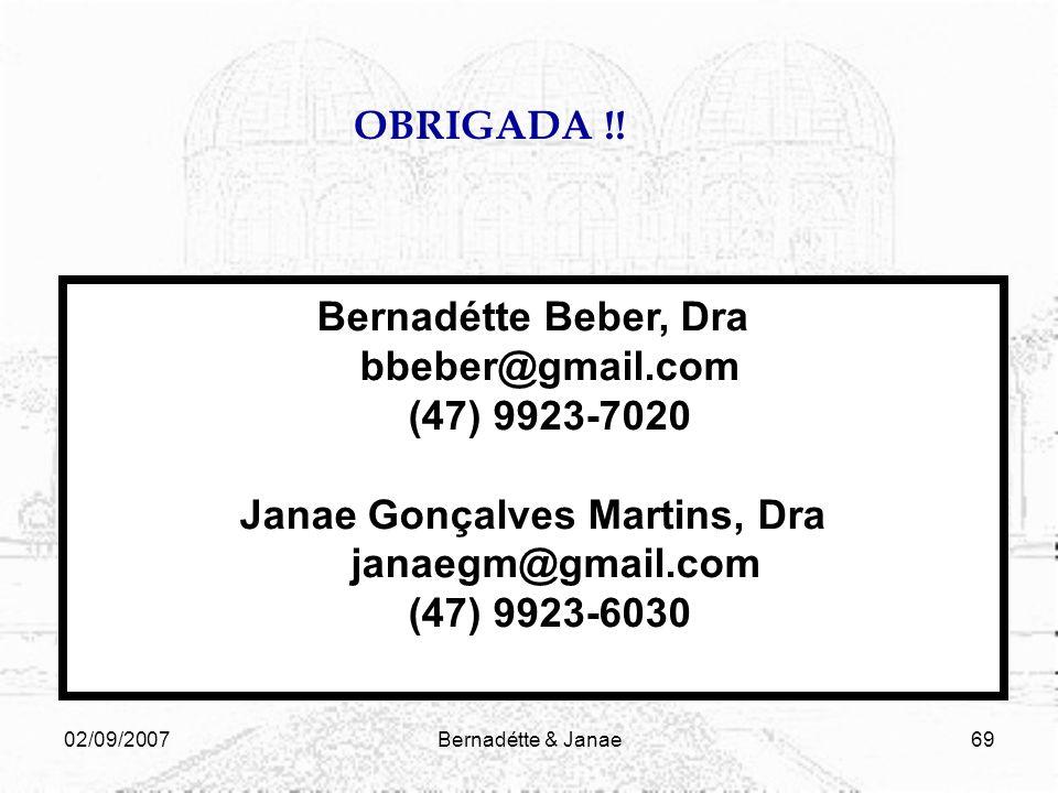 Janae Gonçalves Martins, Dra