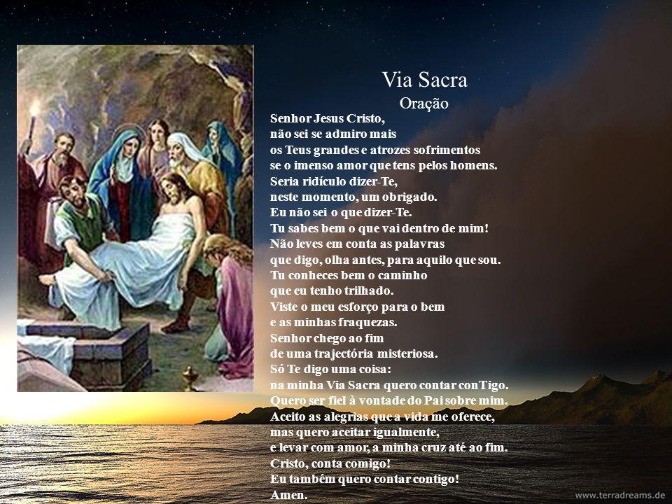 Via Sacra Oração.