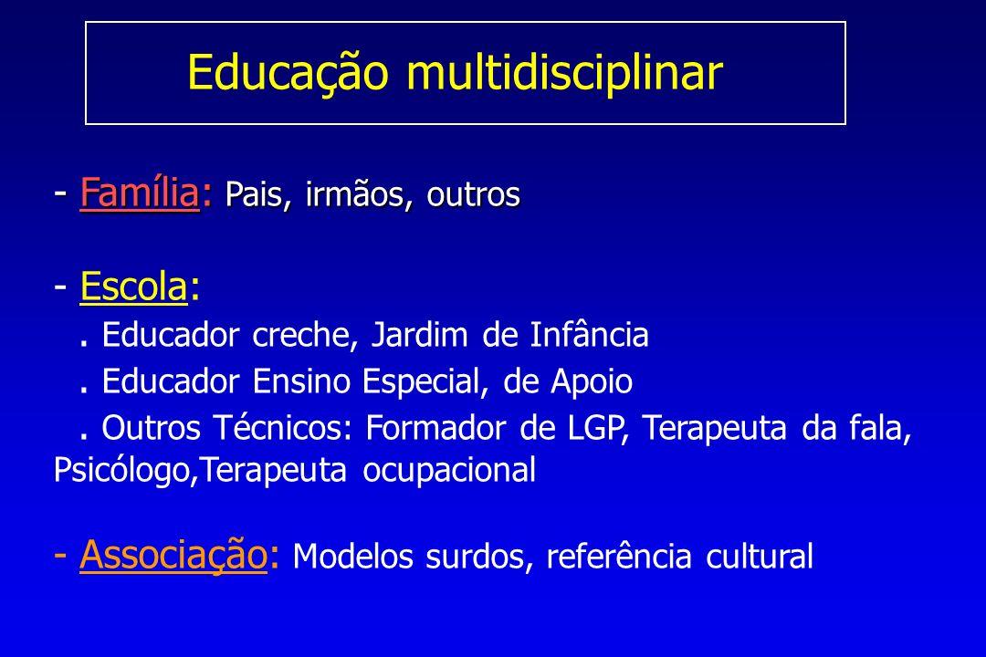 Educação multidisciplinar