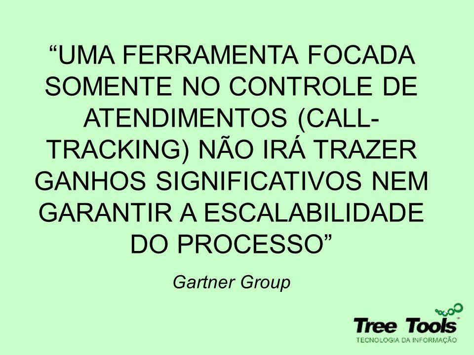 UMA FERRAMENTA FOCADA SOMENTE NO CONTROLE DE ATENDIMENTOS (CALL-TRACKING) NÃO IRÁ TRAZER GANHOS SIGNIFICATIVOS NEM GARANTIR A ESCALABILIDADE DO PROCESSO